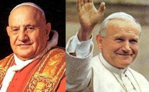 Giovanni Paolo II e Giovanni XXIII Santi il 27 aprile 2014
